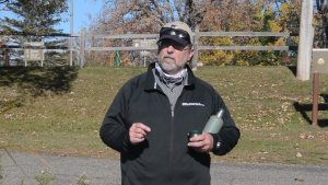 Fishing for data at Big Sandy Lake