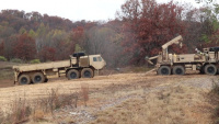 Fort McCoy RTS-Maintenance Wheeled Vehicle Recovery Course Training: Winching out a mired vehicle, Part II