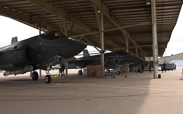 421st Fighter Squadron returns to Hill AFB B-roll