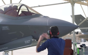 Royal Netherlands air force F-35 mission