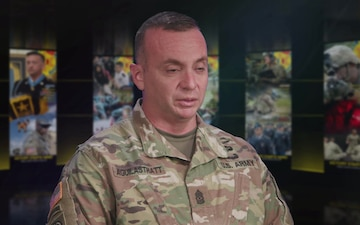 TRADOC SGM Aguilastratt Interview - Why I Serve
