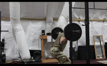 Task Force Illini Soldiers prepare for the new Army fitness test