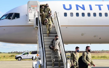 Airmen arrive and in-process at Agile Flag 21-1