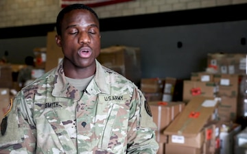 40th Quartermaster Company: Supply Support Activity