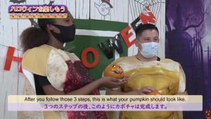 Virtual Halloween Cultural Exchange Episode 3: Pumpkin-Painting