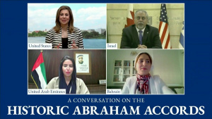 State Department Spokesperson Morgan Ortagus Hosts a Live Conversation on the Abraham Accords.
