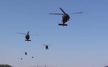 Dagger Soldiers Train Air Assault Operations