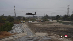 LA District Conducts Flood Fight Training With California National Guard (Full Branding)