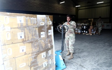 40th Quartermaster Company: Supply Support Activity- B-Roll