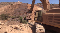Border Barrier Construction near San Diego