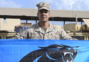 Carolina Panthers Shoutout - Capt. Josh Bredeman