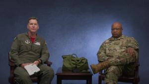Arkansas Air National Guard message on service culture