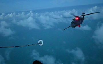 Helicopter Air-to-Air Refuel