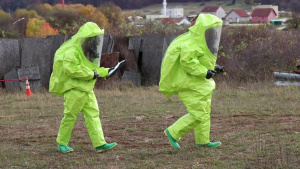 Kosovo Security Force HAZMAT team conducts realistic training at JMRC