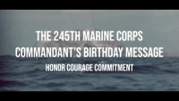 Commandant's 245th Marine Corps Birthday Message