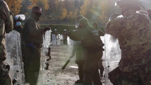 German soldiers train multinational units for KFOR