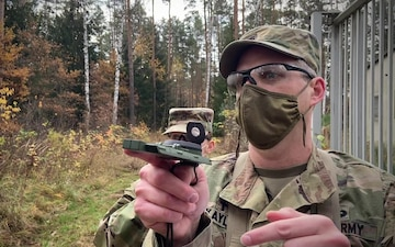 Combat Medical Ministry & Emergency Medical Ministry training: Day 1 Land Nav