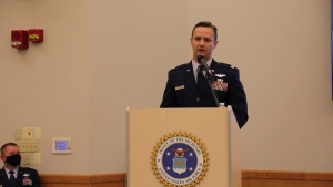 Major Devries Awarded Distinguished Flying Cross