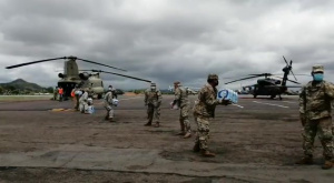 JTF-Bravo delivers life-saving supplies in Panama