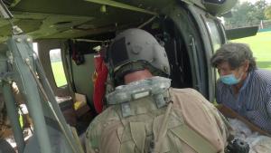 JTF-Bravo loads life-saving supplies with Honduran partners