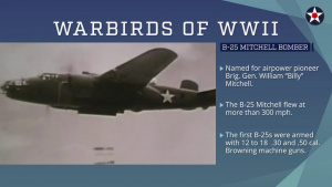 Warbirds of World War II - B-25 Mitchell Bomber