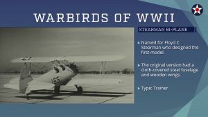 Warbirds of World War II - Stearman Cadet
