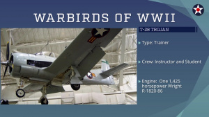 Warbirds of World War II - T-28 Trojan