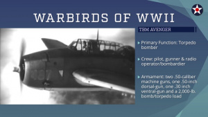 Warbirds of World War II - TBM Avenger