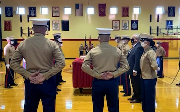 Headquarters & Service Battalion, Headquarters Marine Corps, Henderson Hall, 245th Marine Corps Birthday Celebration