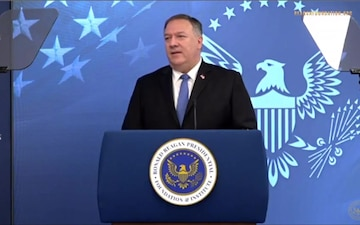 Secretary of State Michael Pompeo - Ronald Reagan Institute's Center for Freedom and Democracy