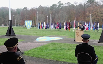21st Theater Sustainment Command Veterans Day Ceremony