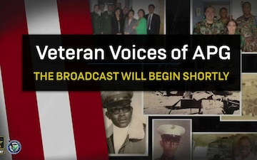 Veteran Voices of APG