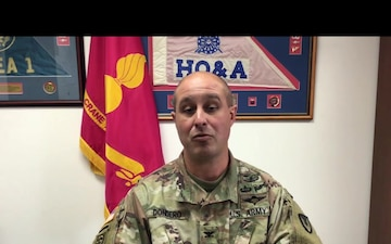 Crane Army Commander Provides Veterans Day Message to Washington High School