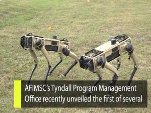 Inside AFIMSC -- Tyndall 'Robot Dogs' Demonstration