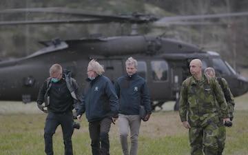 Swedish Minister of Defence visits Swedish-U.S. SOF exercise