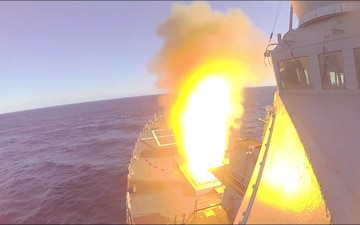 USS Donald Cook SM2 Missile Shoot JW 20-2