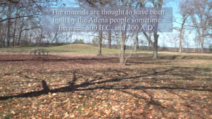 Adena Indian burial mounds of Wright-Patterson AFB