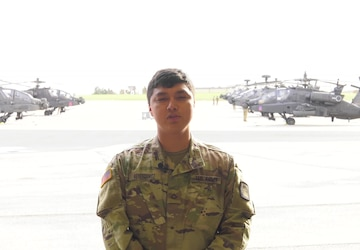 Pfc. Isai Reyes-Quiroz Thanksgiving Greeting
