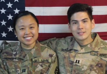 CPT Micheal and Mariel Menges Thanksgiving greeting