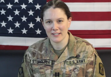 CPT Meredith Steggerda Thanksgiving greeting