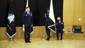 Gen. David D. Thompson, Vice Chief of Space Operations, Promotion Ceremony