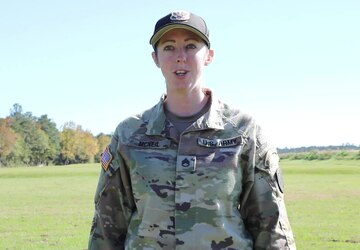 Staff. Sgt. Erin McNeil Gives a Thanksgiving Greeting