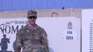 Sgt. Maj. David Zeek Thanksgiving Greeting Pine Mountain Georgia