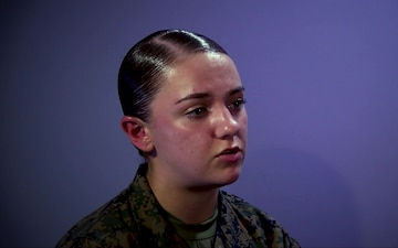 Pfc. Ashley Valentine Interview