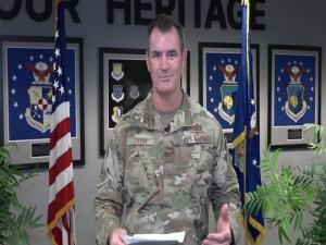 Col John Tryon, AFCEC Commander, Det 1, 'Virtual' All-Call to AFCEC-Tyndall Team, Nov. 20, 2020