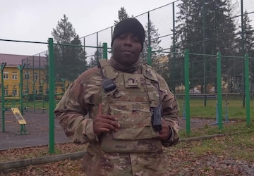1st Lt. Lamar Brown Thanksgiving Shout-out, Task Force Illini