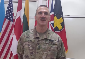 Master Sgt. Ryan Crews Thanksgiving Shout-out, Task Force Illini