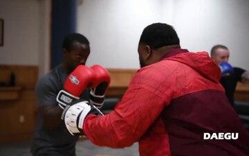 Camp Walker Boxing Class