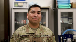 Spc. Daniel Martinez Holiday Shout Out