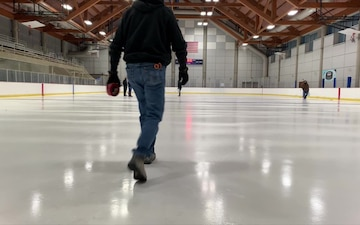 Fort Wainwright ice rink rollout